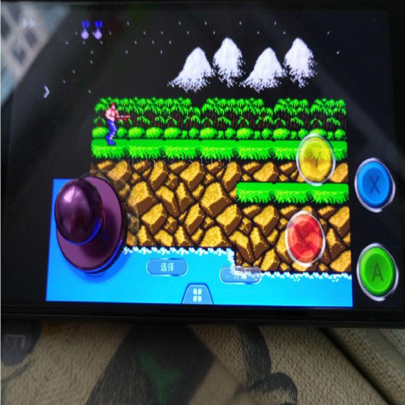 Stock Spiel Joystickk Joypad mit Saugnapf Touch Screen Handy Mini Rocker / set genießen Sie die Spielzeit für universelle Smartphone