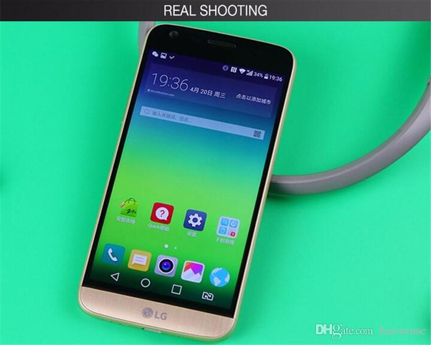 Refurbished Original LG G5 H850 H820 5.3 inch Quad Core 4GB RAM 32GB ROM 16MP LTE 4G Unlocked Phone DHL