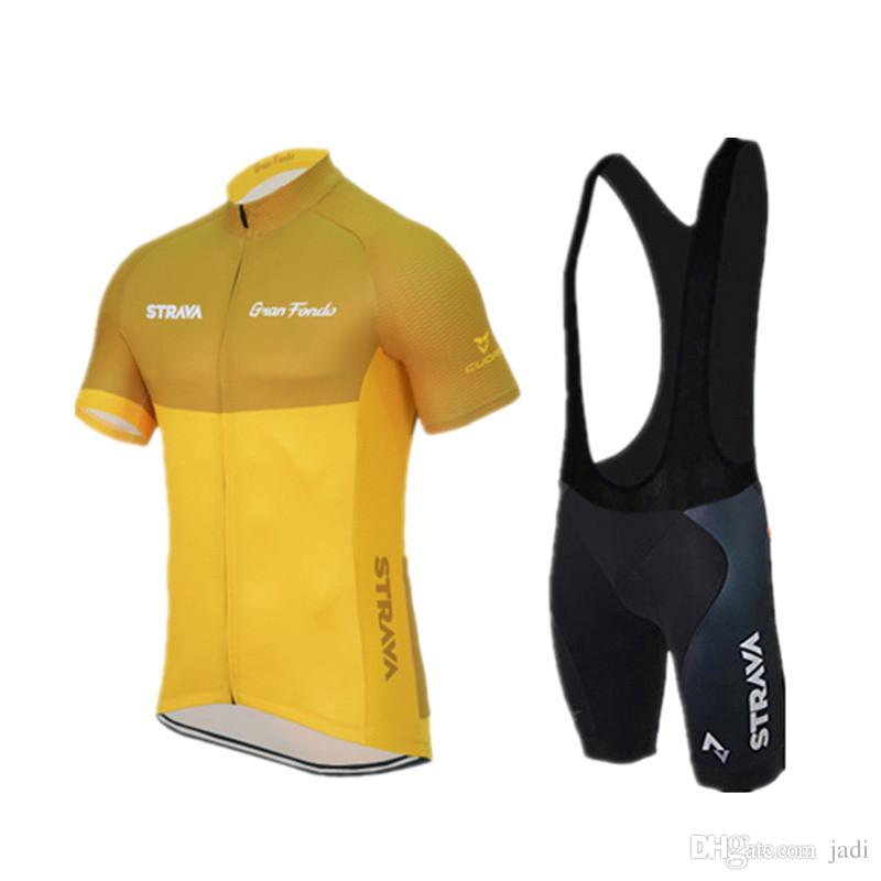Strava Summer Cycling Jerseys Ropa Ciclismo/Breathable Bike Clothing/Quick-Dry Bicycle Sportwear Ropa Ciclismo/GEL Pad Bike Bib Pants