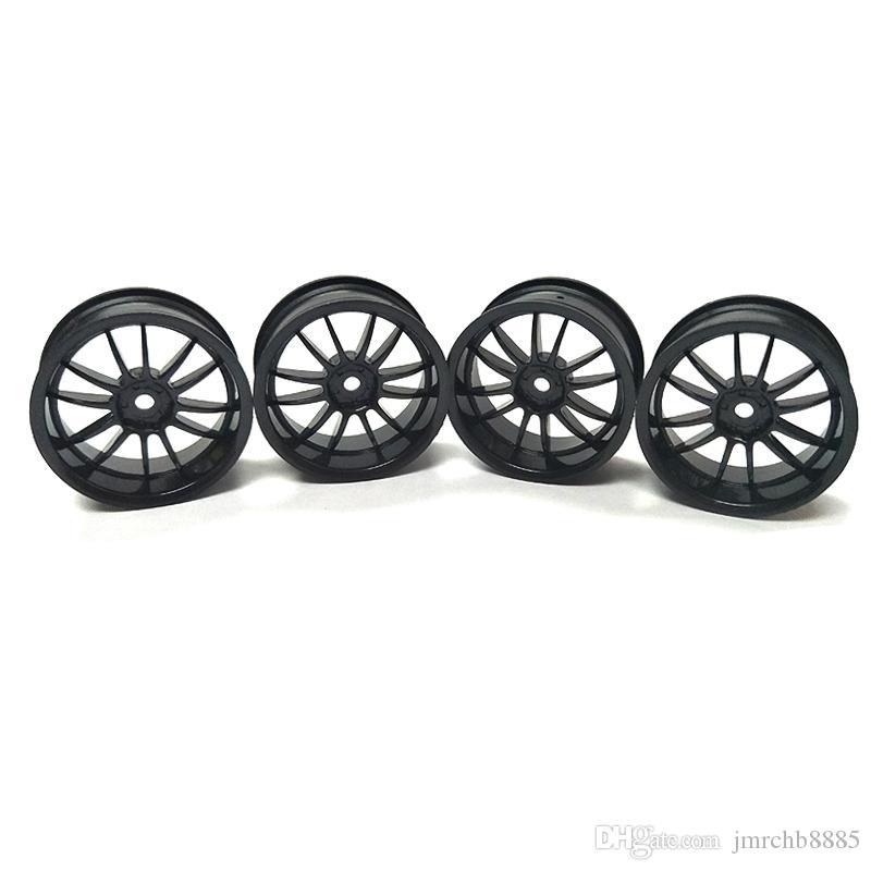 Plastic Wheel Rims For 1/10 RC Car Traxxas Axial Kyosho