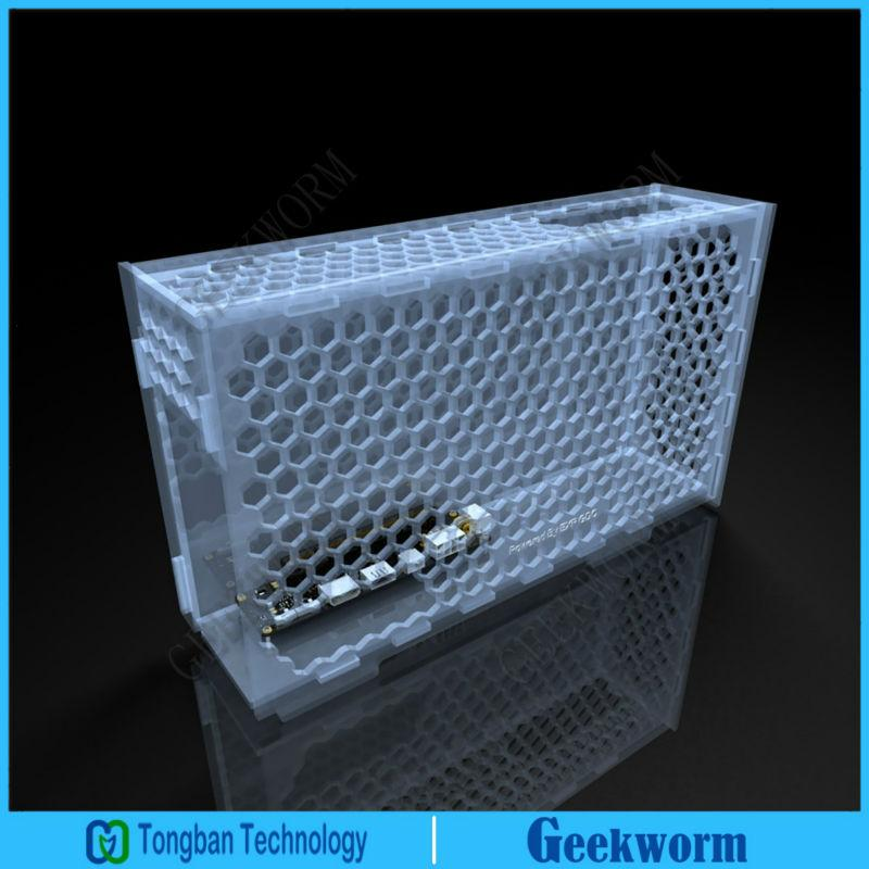 Freeshipping EXP GDC Honeycomb Case Storage Box Protective Shell For Laptop  External Graphics Card