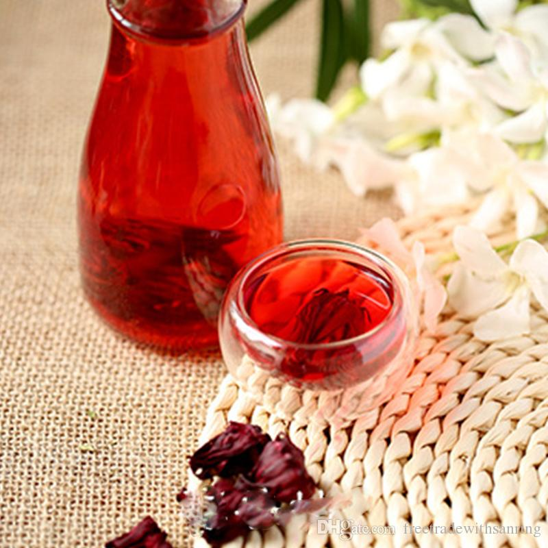 Special Offer Top Fashion 100g Hisbicus Flower Tea Detox Drink Healthy  Magic Slimming Roselle Blood Red Best Chinese Safe Herbal