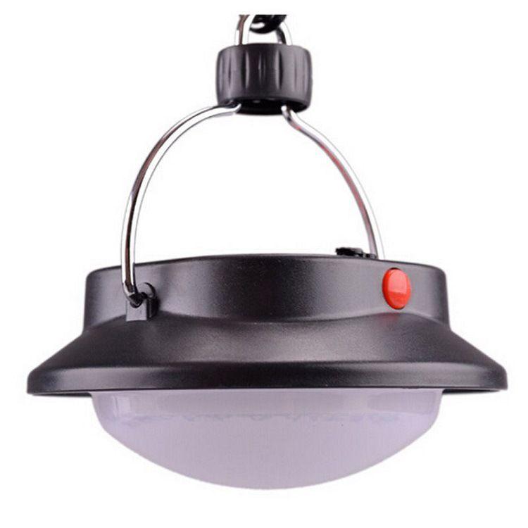 Lámpara de camping 60 LED para uso en exteriores Luz de la tienda de campaña Paraguas con paraguas Lámpara de noche con 3 modos de iluminación