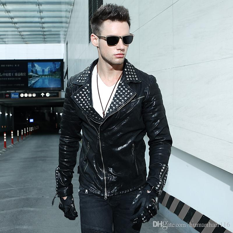 Black leather jacket 2018