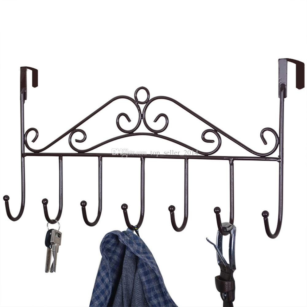 Hooks To Hang Clothes discount coat hooks hang over door | 2017 coat hooks hang over