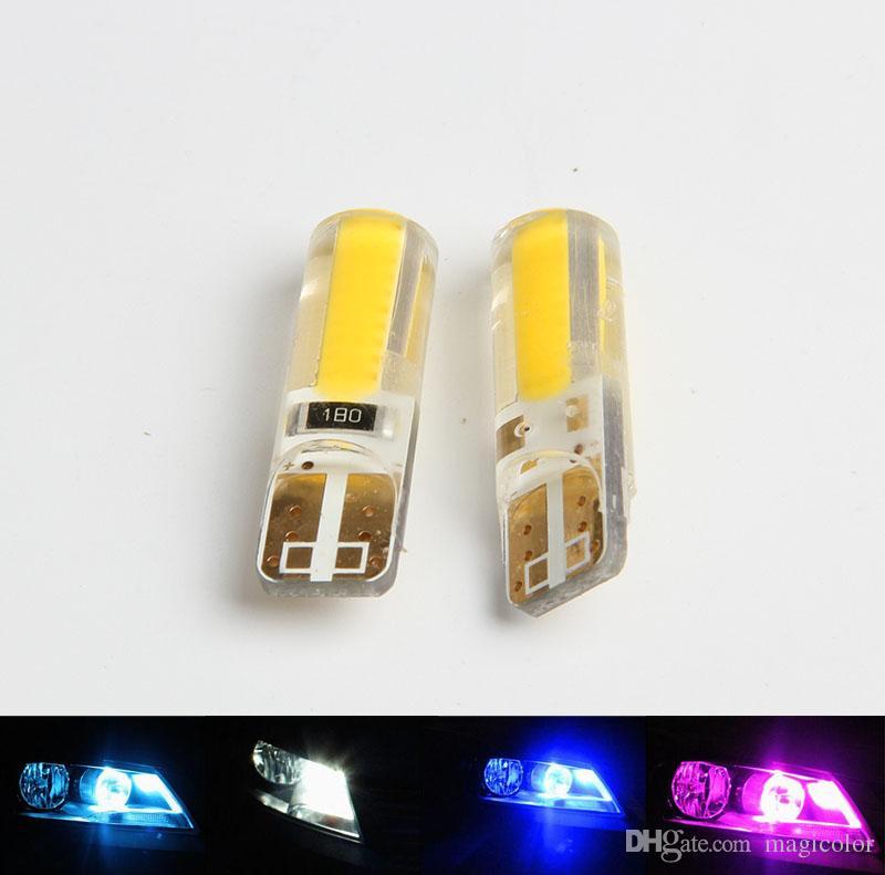 Bon New T10 Led Cob Wedge Marker Lamp W5w Car Bulbs Canbus No Error Led Light  Parking 12v 194 501 T10 Led Car Side Light Car Led Lights Car Leds From  Magicolor, ...