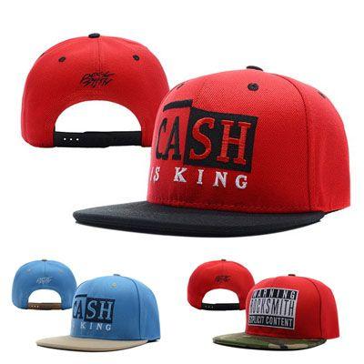Hot Rocksmith Cash Is King Explicit Snapback Caps & Hats Snapbacks Snap  Back Hat Men Women Baseball Cap Cheap Sale Hat Beanies From Jacket_outlet,  ...