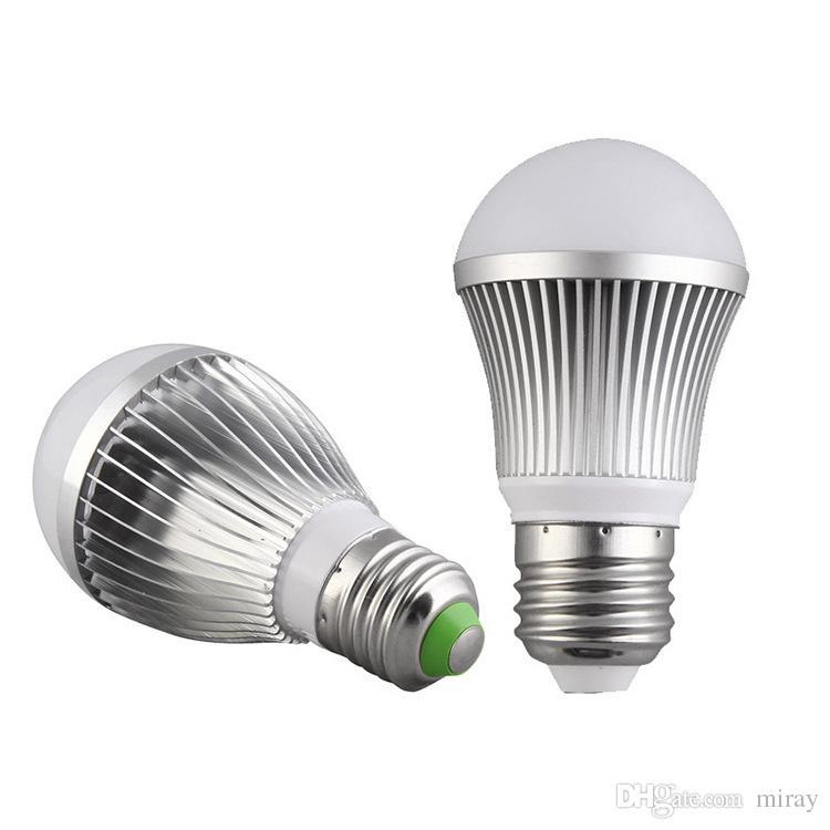 Led lâmpada e27 parafuso pacote de plástico de alumínio de alta Fu Shuai bulbo sensor de luz lâmpada de radar, lâmpada de alumínio de chumbo-livre atacado