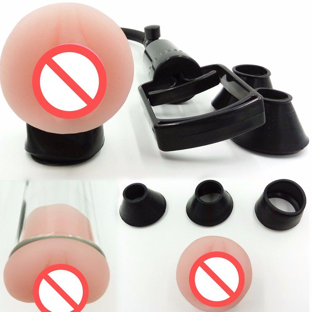 Горячий мужской пенис насосы Penis Увеличить вакуумный насос Penis Extender Секс-игрушки Dildo Удлинитель Секс Продукт