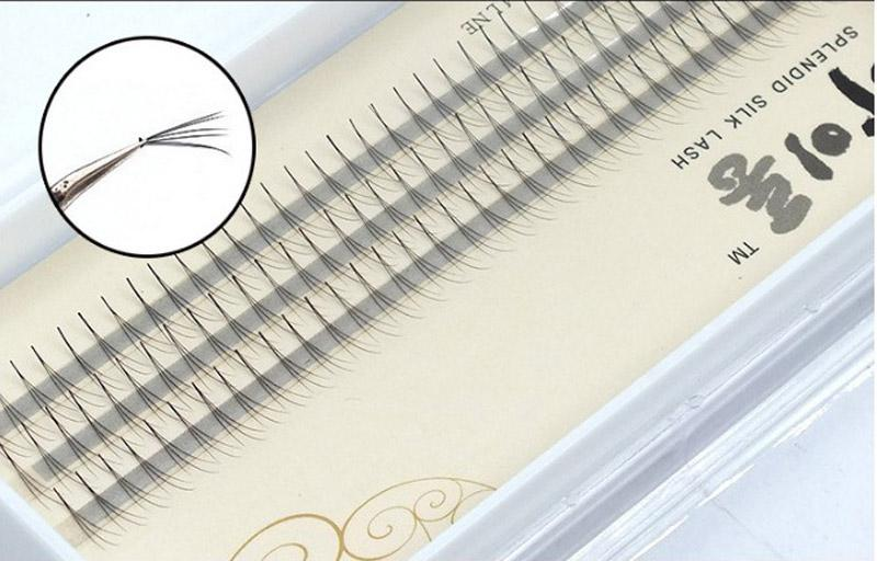 8-12mm 0.07mm Natural Soft Top False Eyelashes Extension 3D Lashes W lash Deluxe Lashes Flare Fake Eyelashes
