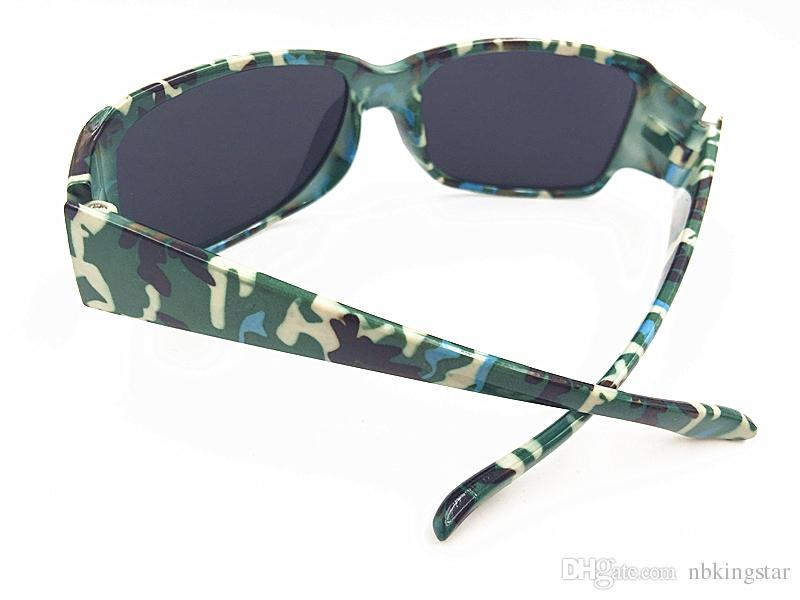 Sport Kids Camouflage Sunglasses Boy and Girl Sun Glasses Child Mirror Coating Eyewear