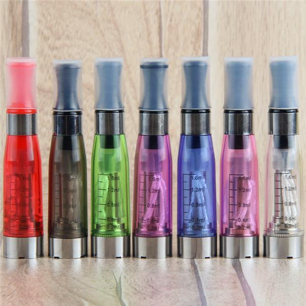 MOQ CE4アトマイザーEGO Clearomizer 1.6ml 2.4ohm蒸気タンク電子タバコE-Cigバッテリー8色4芯CE4 + CE5