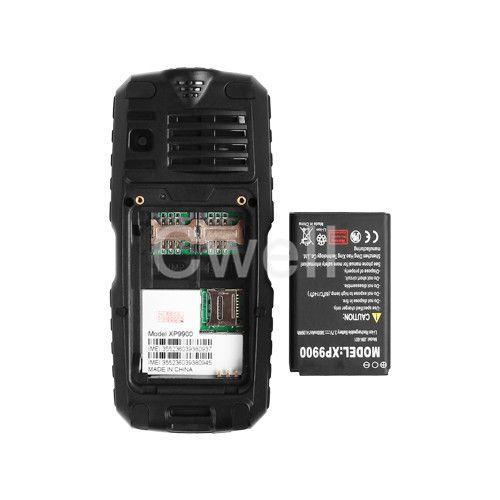 Moins cher Puissance Banque Mobile Téléphone UNIWA XP9900 1.77 Pouces TFT MINI Écran 2000 mAh Grand Batterie Soutien FM Radio Bluetooth lampe de poche