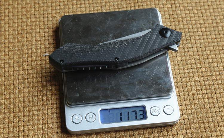 ZT 0460 CF D2 blade carbon fiber titanium handle ball Bearing tactical flipper folding knife outdoor gear survival camping knives EDC tools