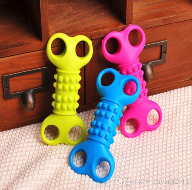 Lobster Shape Pet Toy Cat Dog Chew Teethers Elastic For Cleaning Teeth Mini Rubber Chew Good Quality For Small Pets