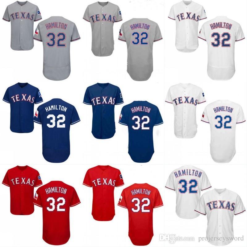 reputable site 234ac 260bd texas rangers 32 josh hamilton white jersey