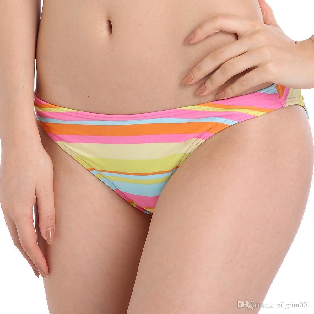 2019 new Women sexy elastic Swimsuit Beachwear Swimming Suit brazilian Bikini Set Beach Bathing Suits Wear Biquini Beach strip wholesale