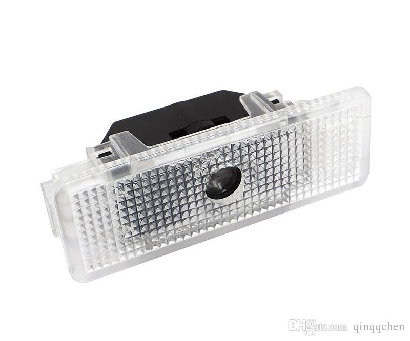 2 قطعة / الوحدة الصمام باب السيارة الليزر العارض 3D شبح شعار الظل شعار ترحيب ضوء ل bmw e39 e53 x5