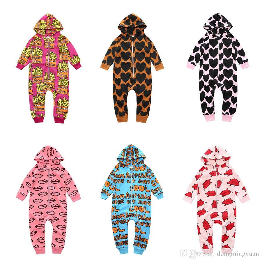 Christmas Costume For Baby Boy Girl Romper Clothes Winter New Year ...