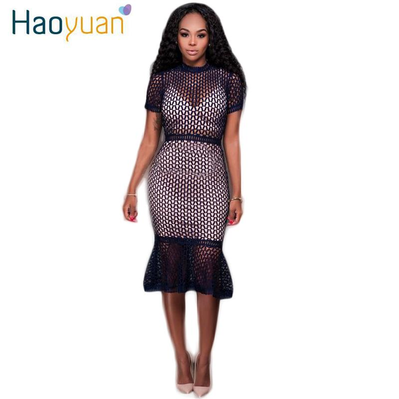 Sexy Club Dress 2017 Package Hip Slim Party Night Short Sleeve Transparent  Wrap Bodycon Ladies Dresses Summer Maxi Dress 17301 High Quality Summer  Maxi ... ca3cea53e