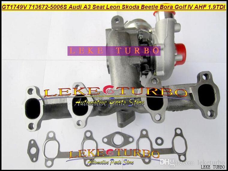 GT1749V 713672-5006S 713672 Turbo Cartridge CHRA Turbocompressore AUDI A3 Seat Leon Skoda Beetle Bora Golf IV AHF ALH AJM 1.9L TDI