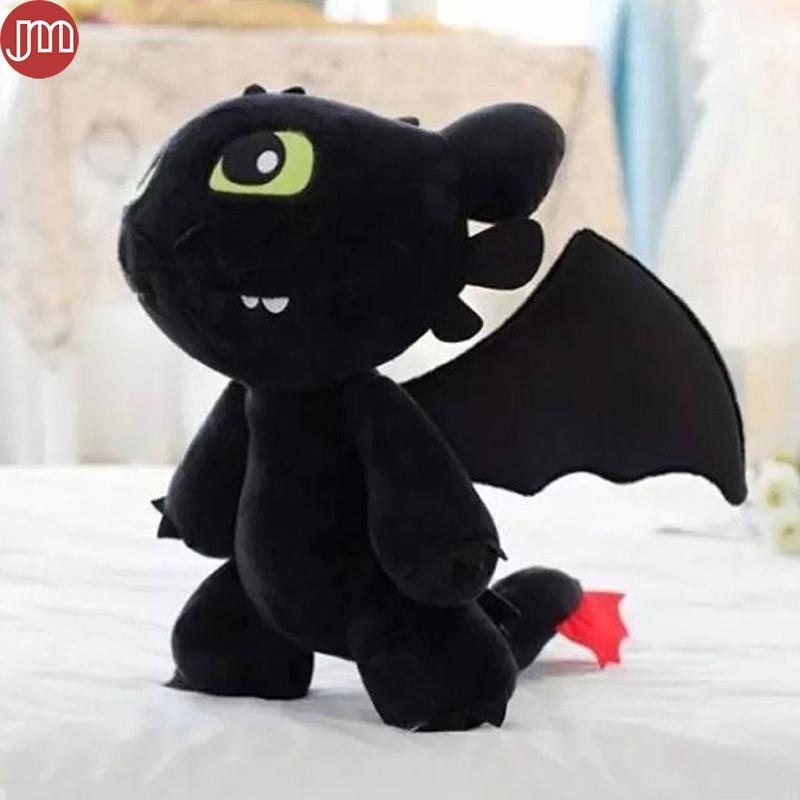 2019 New Toothless Dragon Plush Doll How To Train Your Dragon Toy