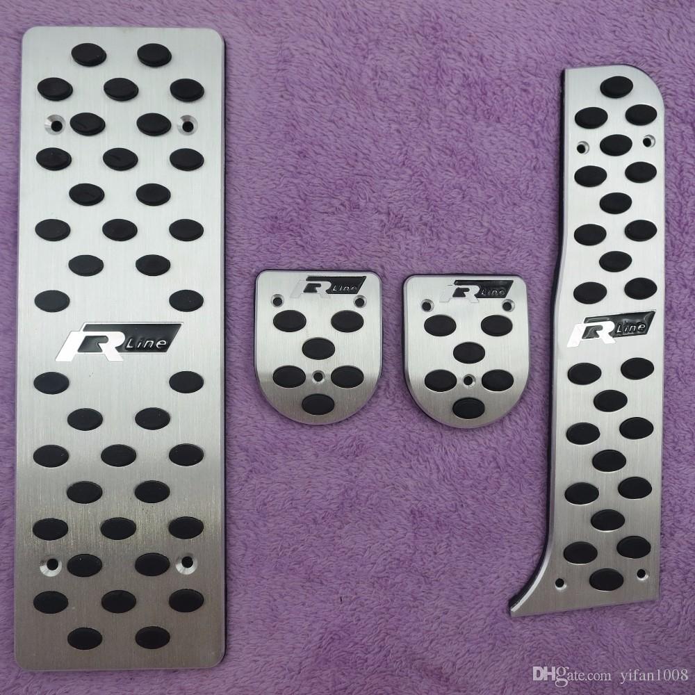 Accessories For VW Golf 5/Golf 6/Jetta MK5/Scirocco/Sharan/Tiguan/CC/Passat B6 Aluminium Foot Rest Gas Rline Pedal Pad car Cove 03