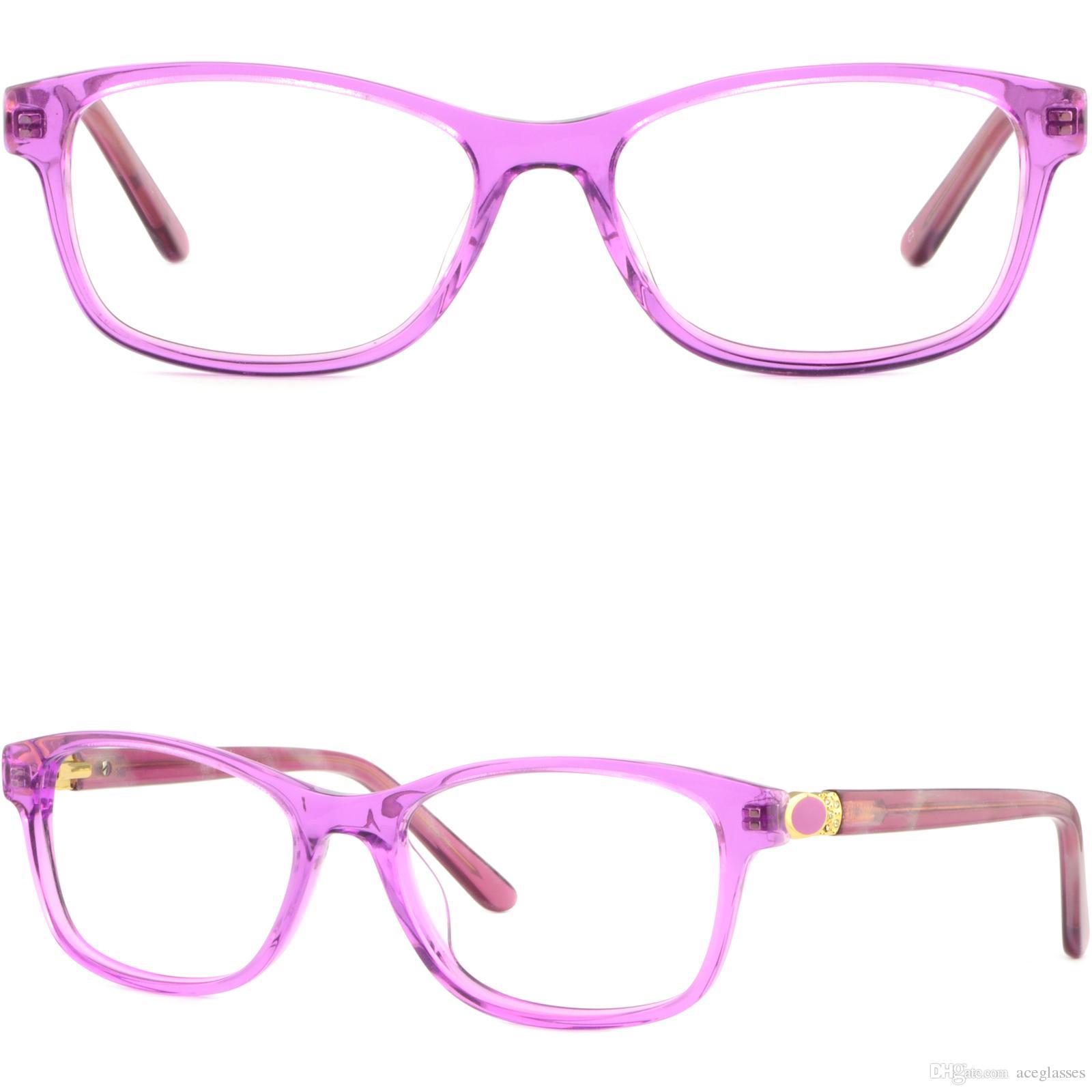 ade5cdc588 Retro Women s Acetate Frames Spring Hinges Prescription Glasses ...