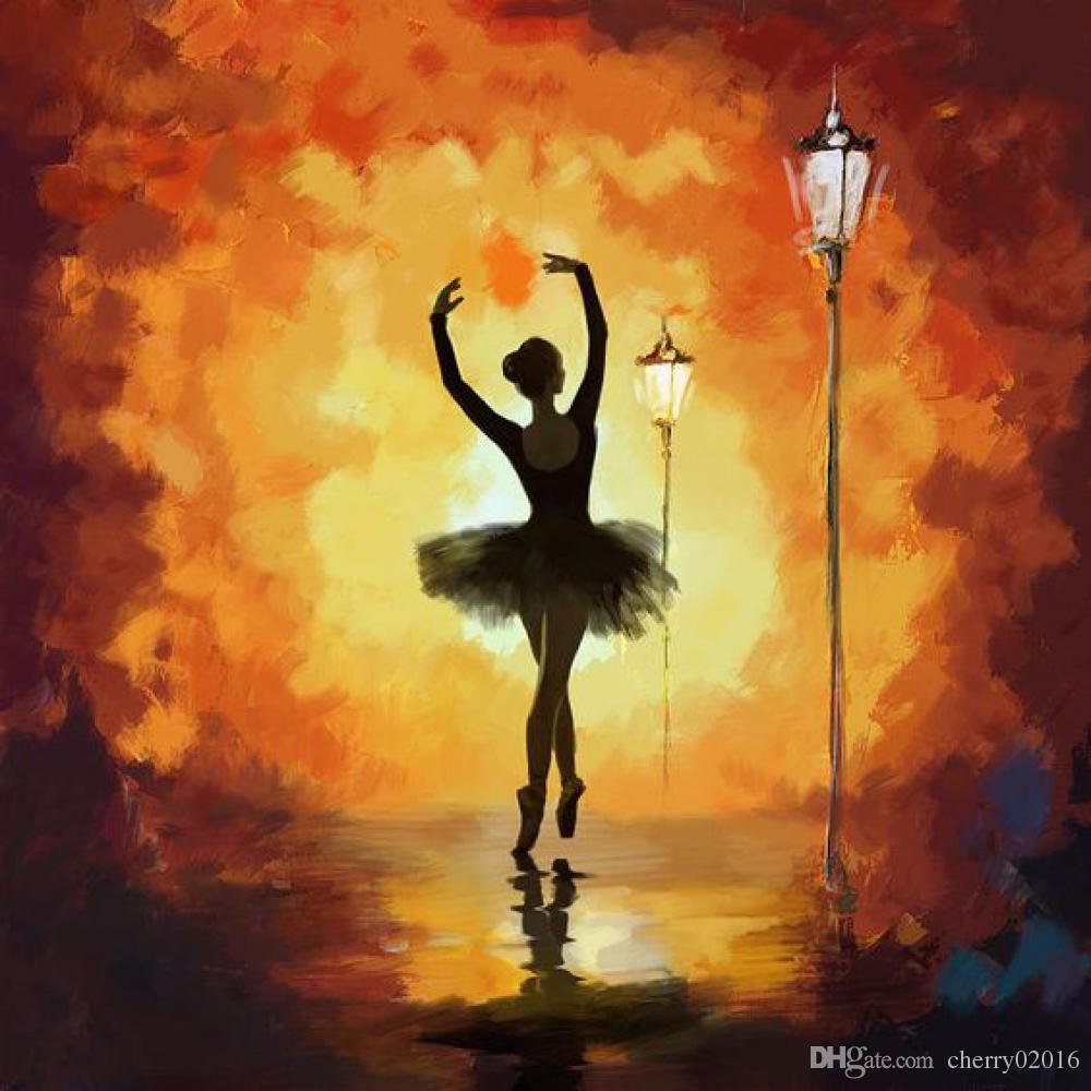 17 Best Images About Paint Colors On Pinterest: Compre Pinturas De Bailarinas Ballet Arte Abstracto