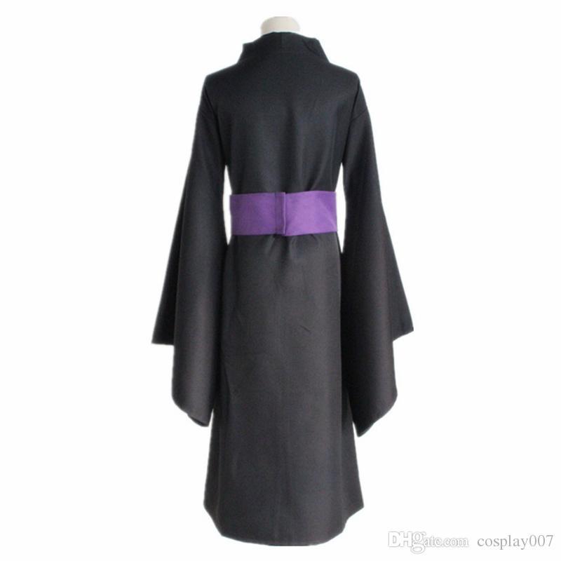 Ято косплей костюмы черный кимоно японский аниме Noragami одежда Маскарад / Марди Гра / карнавальные костюмы поставка со склада