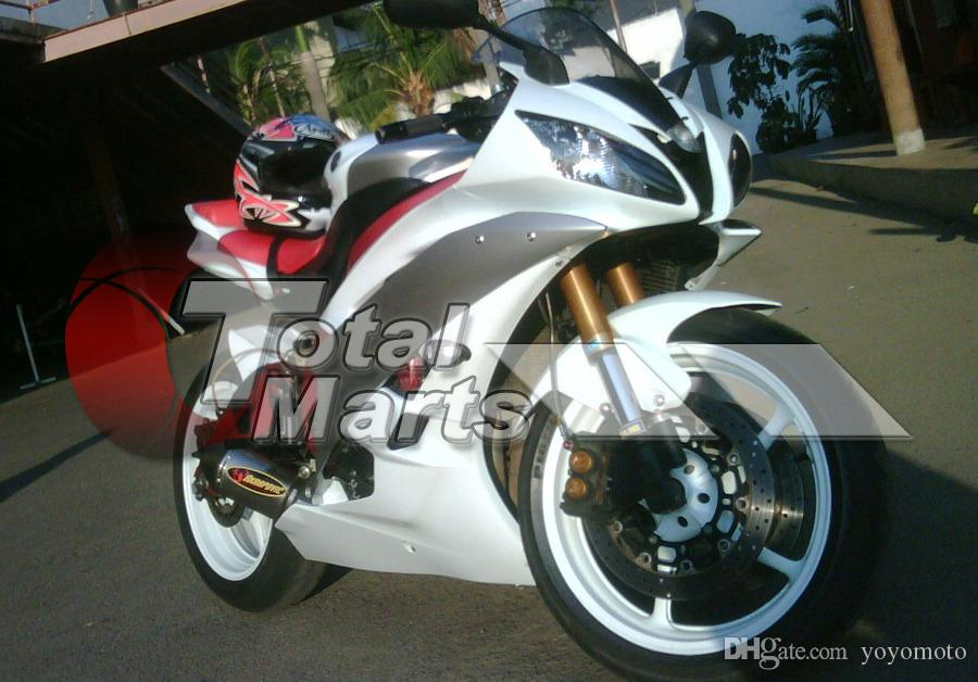 Fairing For Yamaha YZF-R6 YZF R6 06 07 2006 2007 Injection White FD6661 Black FD6632 Silver FD6636