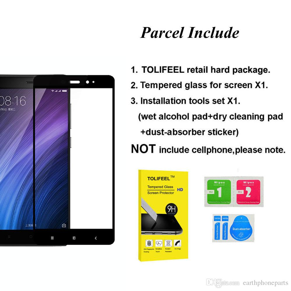 For Xiaomi Redmi 4 Prime Tempered Glass 2.5D Full Cover Screen Protector For Xiaomi Redmi 4 Pro Prime 5.0 inch