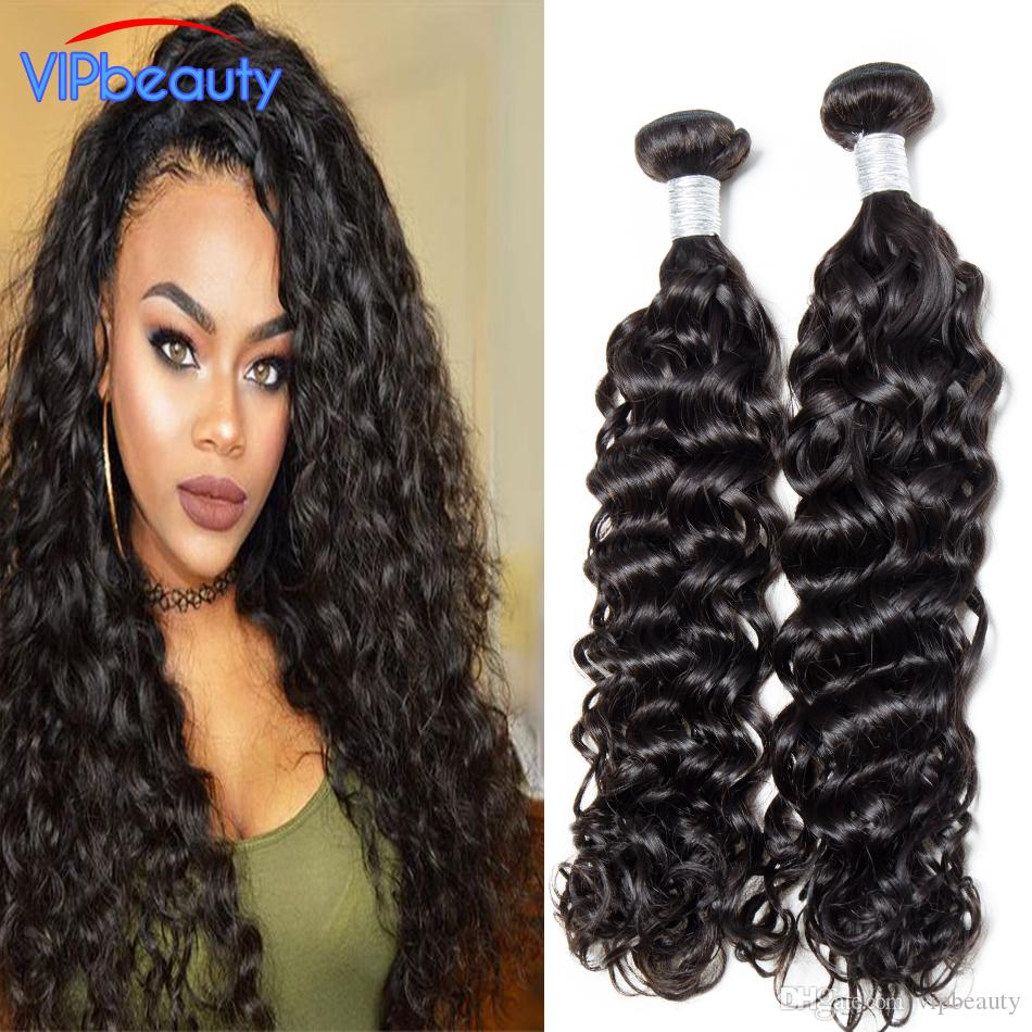 Wet And Wavy Indian Virgin Hair Extension Unprocessed Indian Water