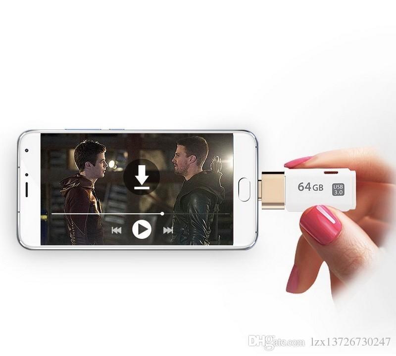 OTG Hug 2.0 Dönüştürücü OTG Adaptörü Mikro USB Mini Android için USB Hub Hub Gadget Telefon Kablosu Kart Okuyucu Flash Sürücü Tel
