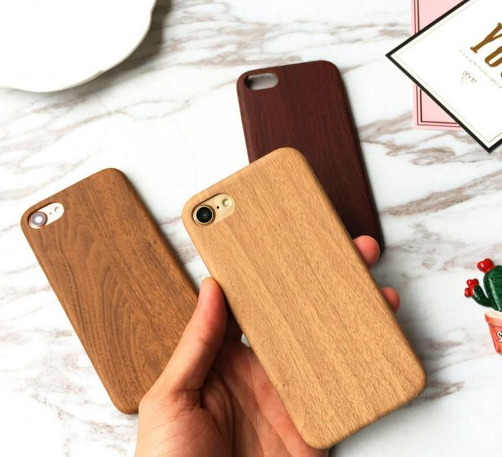 luxury wooden pattern tpu cover for apple iphone 6 case wood grain