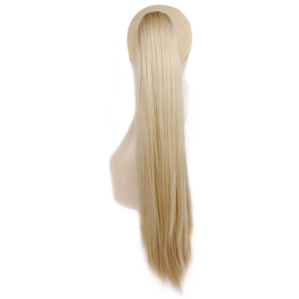 Wholesale Synthetic Hair Horsetail Hair Blonde Claw Ponytail