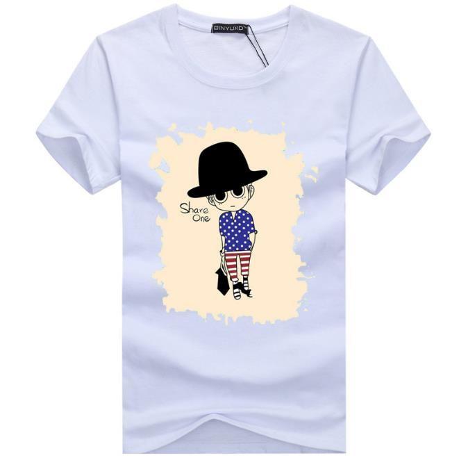 2017 ropa al por mayor camiseta de los hombres camisetas 3D pintura hip hop ropa para hombre camisas de diseño más tamaño negro blanco