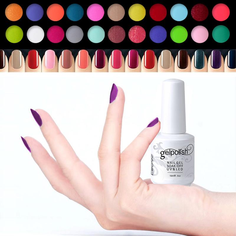 Wholesale Elite99 UV Nail Polish Top Quality 15ml Three Step UV Curing Gel Color Gorgeous Nails Gel Colored Avaliable Choose Any How To Do Gel Nails What ...