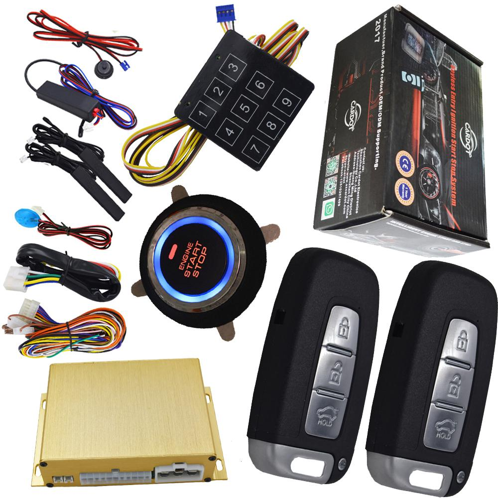 2018 Keyless Entry System Car Start Stop Engine Auto Ignition Solution Car  Alarm Installation Wire Diagram From Cardot From Cardot2011, $105.53 |  DHgate.Com