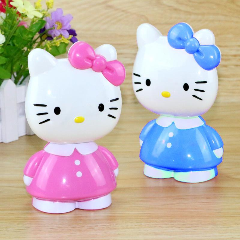 bfd5c7ca2e 2019 2017 Hello Kitty Cartoon Table Lamp With A Piggy Bank Studentdesk Top  Bedside Bedroom Small Yellow Folding Desk Lamp From Lesleyguo
