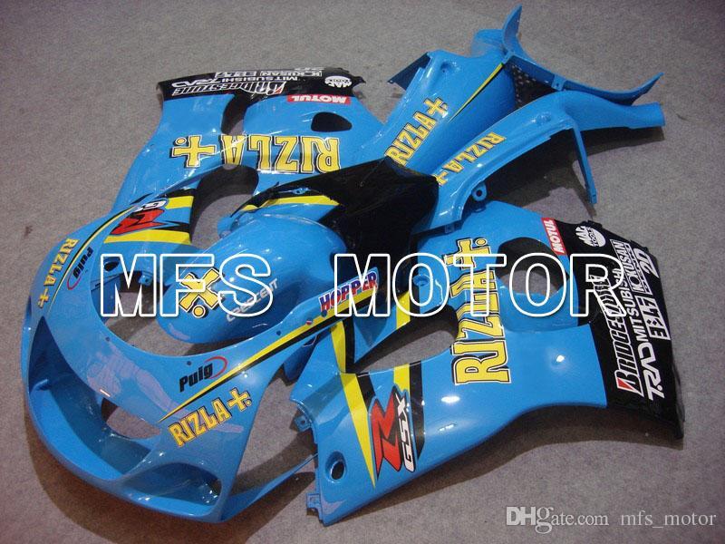 Hot Sale For 2000 Suzuki GSXR750 GSX-R 750 ABS Injection Plastic Full Fairing Set Bodywork Kit + Tank Fairing