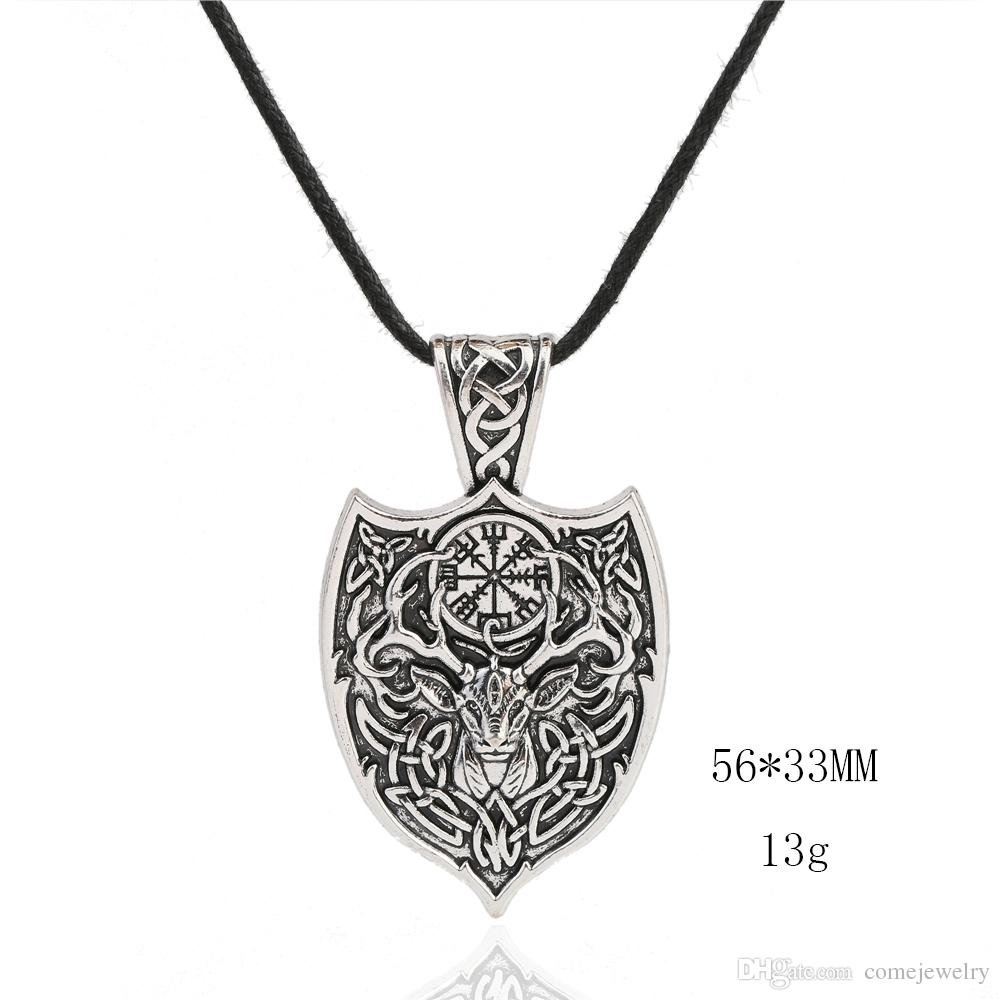 High Quality Vintage Style Pendant Kabbalah Wiccan For Jewelry Rope Necklace