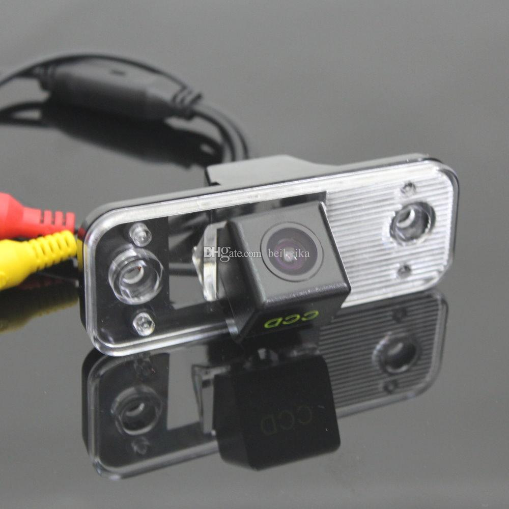 License Plate Light OEM / HD CCD Night Vision / Car Rear Camera / Reverse  Camera For Hyundai Santa Fe