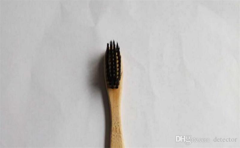 Personalizado de Moda de Nova Escova de Escova de Bambu Coroa EnvironmentaTongue Cleaner Dentadura Dentes Kit de Viagem Escova de Dente MADE IN CHINA FRETE GRÁTIS