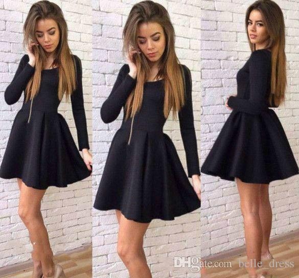 Cocktail dress in black 15