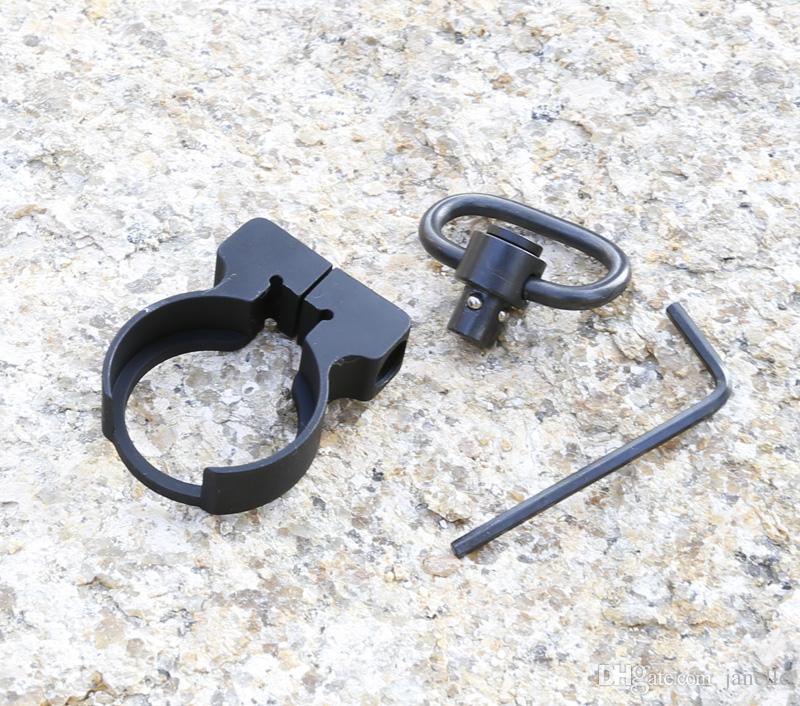 Attache rapide de bâti d'adaptateur d'élingue de plaque d'extrémité QD de Quick Detach pour les carabines de chasse .223 / 5.56 carabine AR15 M4