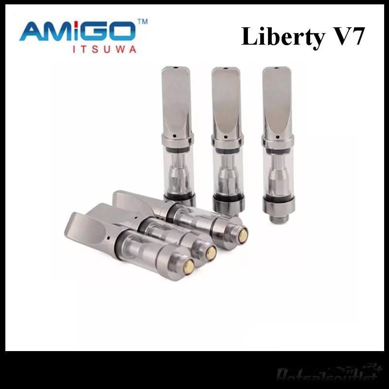 Amigo Liberty serbatoio V5 V7 V8 V9 V12 X5 ceramica bobina cartucce Vaporizzatore metallo VS CE3 G2 A3 100% originale