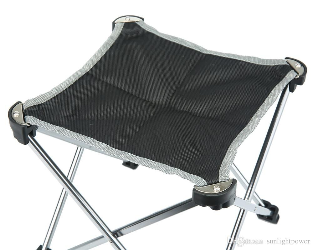 Portable Oxford Fabric Fishing Chairs Ultra Light Folding Chair Seat For Outdoor Camping Leisure Picnic Beach Garden Chair