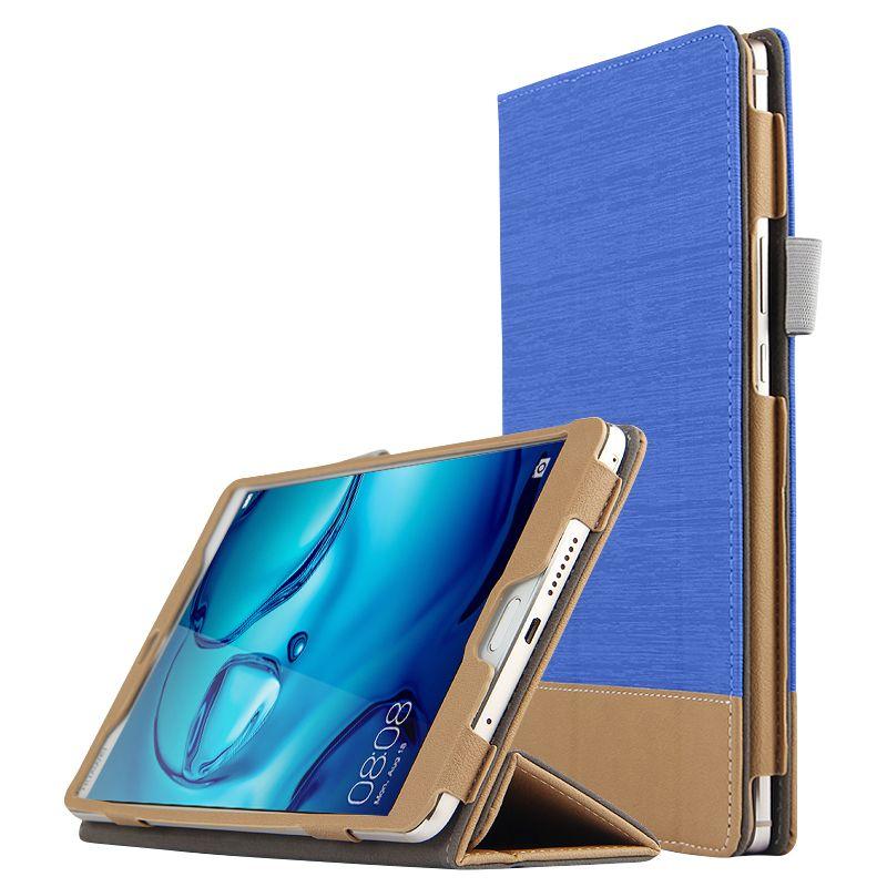 "Tablet Borsa Cover Case 8,4/"" LUSSO Custodia Protettiva in Pelle Huawei MediaPad m3"