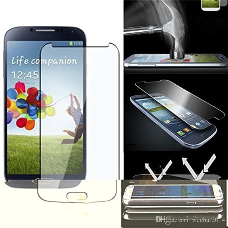 Explosion Proof 9H 0.3mm Screen Protector Tempered Glass for Samsung Galaxy s3 i9300 s4 i9500 s5 i9600 s6 G9200 s3 mini s4 mini